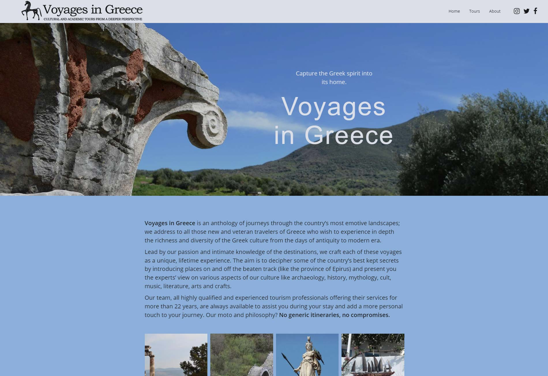 Voyages in Greece